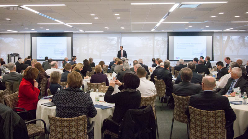 The Boston Fed hosted its inaugural Cybersecurity Conference on April 4 with attendees that  represented small to medium sized financial institutions from all five states within the First District.